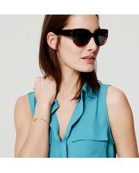 LOFT - Black Ombre Sunglasses - Lyst