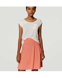 LOFT - Multicolor Petite Knit Circle Skirt - Lyst