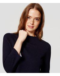 LOFT | Blue Swing Sweater | Lyst