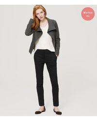 LOFT - Black Tall Essential Skinny Ankle Pants In Marisa Fit - Lyst