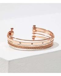 LOFT Metallic Layered Bracelet