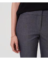 LOFT Gray Tall Custom Stretch Pencil Pants In Marisa Fit