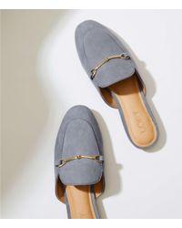 LOFT Multicolor Loafer Slides