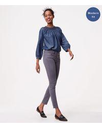LOFT Gray Modern Skinny Jeans