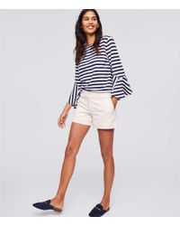 LOFT - Multicolor Petite Riviera Shorts With 3 1/2 Inch Inseam - Lyst