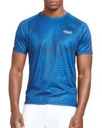 Polo Ralph Lauren   Blue Polo Sport Men's Compression Jersey T-shirt for Men   Lyst
