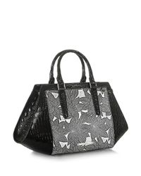 Brahmin Black Arden Leather Satchel