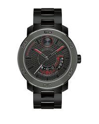 Movado Bold Black Ionic Plated Steel Bracelet Watch for men
