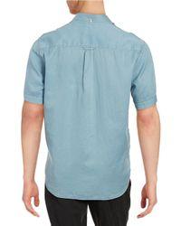 Tommy Bahama Blue Peace Short Sleeve Sportshirt for men