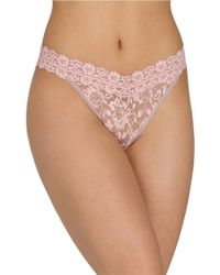 Hanky Panky - Brown Cross Dye Original Rise Thong - Lyst