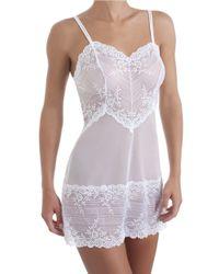 Wacoal | White Embrace Lace Chemise | Lyst