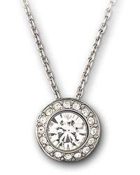 Swarovski | Metallic Faceted Crystal Pendant | Lyst