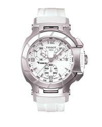Tissot - Ladies T-race White Quartz Sport Watch - Lyst