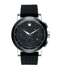 Movado | Black Museum Sport Chronograph Watch for Men | Lyst