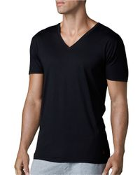 Polo Ralph Lauren - Black Supreme Comfort Jersey Vneck Set for Men - Lyst