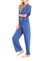 N Natori | Blue 2-piece Tunic Pajamas | Lyst