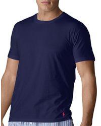 Polo Ralph Lauren | Blue Supreme Comfort Jersey Crewneck for Men | Lyst