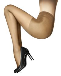 Wolford - Natural Individual Semi-Sheer Tights With Control Top - Lyst
