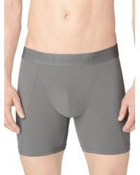 Calvin Klein | Gray Jersey Boxer Briefs for Men | Lyst
