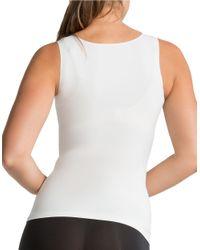 Spanx - White Secret Slimming Tank - Lyst