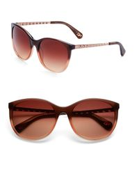 Diane von Furstenberg | Brown Demi 56mm Cat's Eye Sunglasses | Lyst