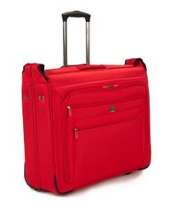 """Delsey Red 19"""" Helium Sky 2.0 Helium Trolley Garment Bag"""
