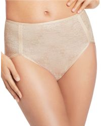 Wacoal | Natural Clear And Classic Brief | Lyst