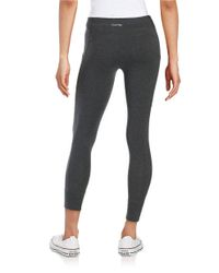Calvin Klein Gray Cotton-stretch Jogger Leggings