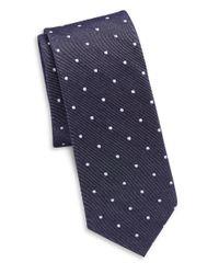 Original Penguin   Blue Silk And Cotton Tie for Men   Lyst