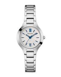Bulova - Metallic Ladies' Classic Stainless Steel Watch, 96l215 - Lyst