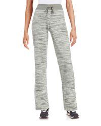 Calvin Klein | Black Space-dyed Velour Pants | Lyst
