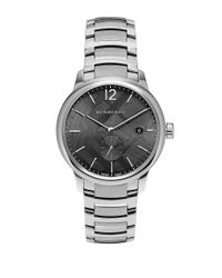 Burberry | Metallic Round Stainless Steel Watch for Men | Lyst
