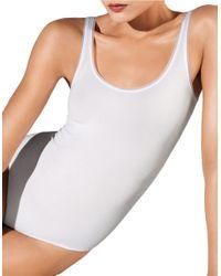 Wolford White Jamaika String Bodysuit