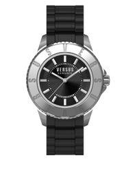 Versus   Black Tokyo Rubber-strap Watch, Sgm160015   Lyst