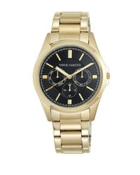 Vince Camuto - Metallic Goldtone Stainless Steel Chronograph, Vc-1084bkgp - Lyst