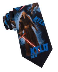 Star Wars Blue Kylo Ren Tie for men