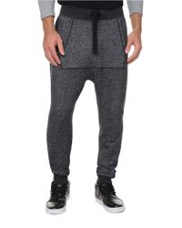2xist | Black French Terry Jogger Pants for Men | Lyst