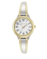 Anne Klein | Metallic Easy Two-tone Bangle Watch, 2453wttt | Lyst