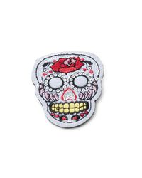 R.j. Graziano | White Sequined Skull Patch Pin | Lyst