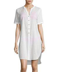 MICHAEL Michael Kors | White Coastal Solids Cover-up Dress | Lyst
