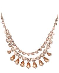 Givenchy | Multicolor Crystal Three-row Collar Necklace | Lyst