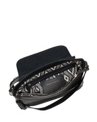 Sanctuary Black Rockstar Studded Leather Crossbody Bag