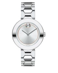 Movado Bold Metallic Bold Stainless Steel Bracelet Watch/32mm