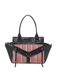Botkier | Black Trigger Small Leather Satchel | Lyst