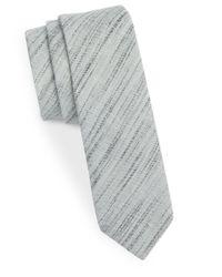 Original Penguin | Gray Skinny Textured Cotton for Men | Lyst