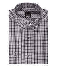 William Rast | Gray Checkered Long Sleeve Cotton Blend Shirt for Men | Lyst