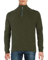 Tommy Bahama | Green New Flip Side Pro Reversible Quarter-zip Sweater for Men | Lyst