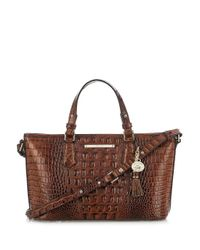 Brahmin - Brown Melbourne Collection Mini Asher Tote - Lyst