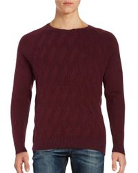 Tommy Bahama | Red Ocean Crest Crewneck Sweater for Men | Lyst