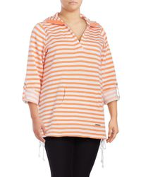 Marc New York - Multicolor Striped Active Pullover - Lyst